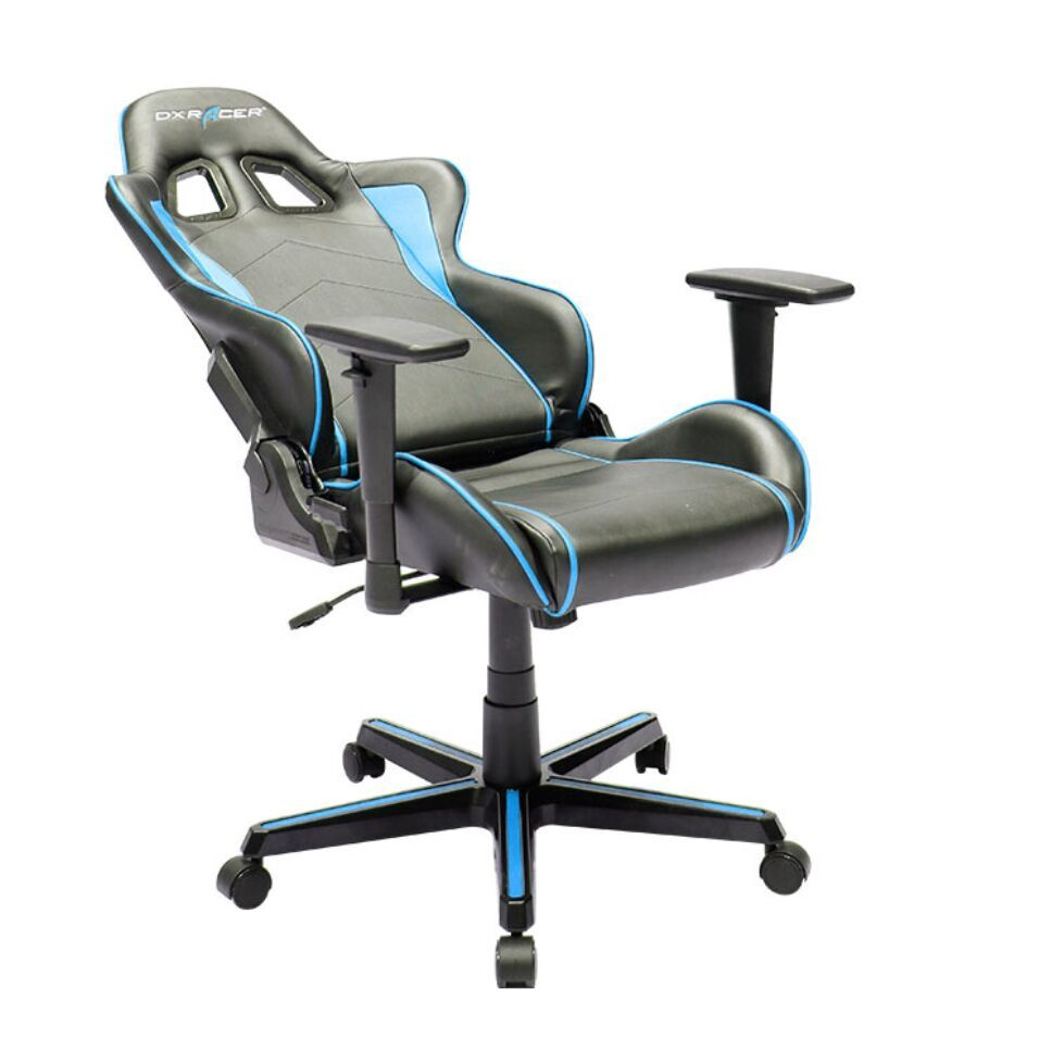 DXRacer Formula Series FH08 Gaming Chair (Black and Blue) for  image