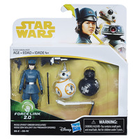 Star Wars: Force Link 2.0 - Rose (First Order Disguise) and Droids