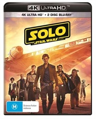 Solo: A Star Wars Story on UHD Blu-ray image