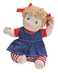 "Rubens Barn: Kids Olivia - 14"" Plush Doll"