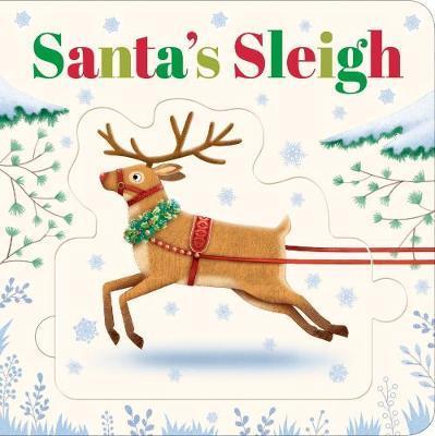 Connect-A-Book Santa's Sleigh