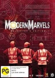 Modern Marvels Collector's Edition on DVD