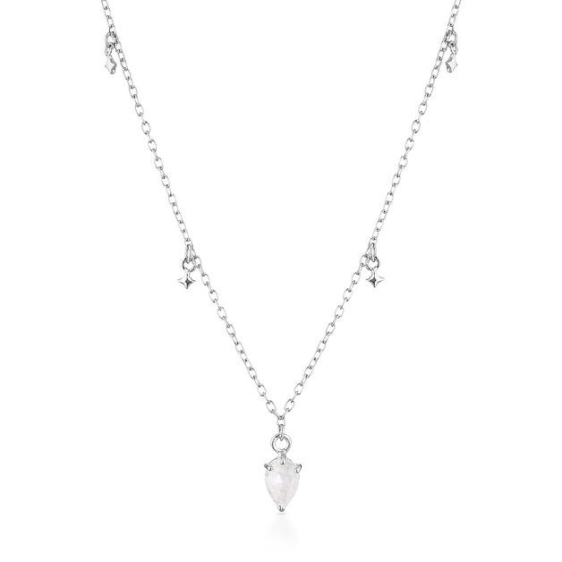 EL & RO: Lyra Necklace - Silver
