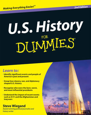 U.S. History For Dummies by Steve Wiegand image