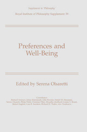 Preferences and Well-Being image