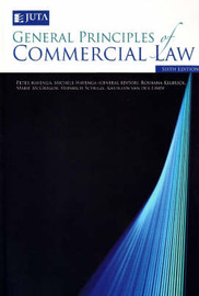 General Principles of Commercial Law by Peter Havenga image