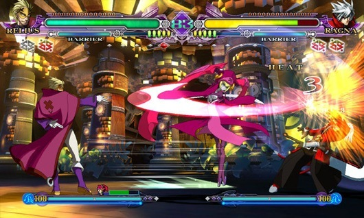 BlazBlue screenshot