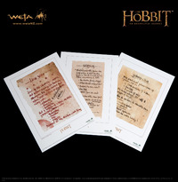 The Hobbit Art Prints: Recipes from Bag End - by Weta