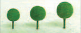 "JTT Scenic Medium Green Trees 3/16""-1/2"" (30 pk) - Micro Scale"