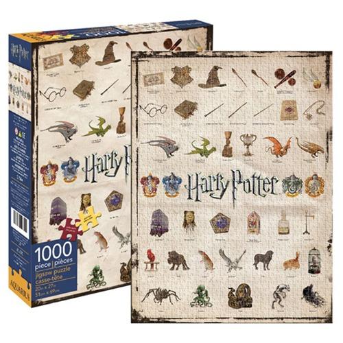 Harry Potter: 1,000 Piece Puzzle - Icons