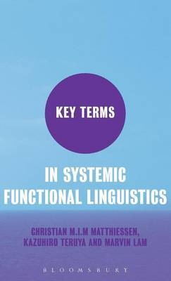 Key Terms in Systemic Functional Linguistics by Christian Matthiessen image