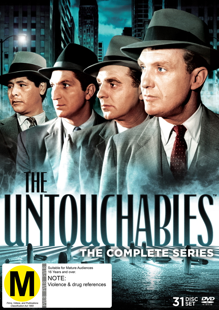 Untouchables - The Complete Collection (31 Disc Box Set) on DVD image