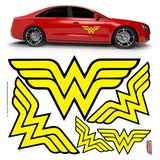 DC Comics: Wonder Woman - Car Graphics Set
