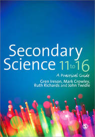 Secondary Science 11 to 16 by Gren Ireson image