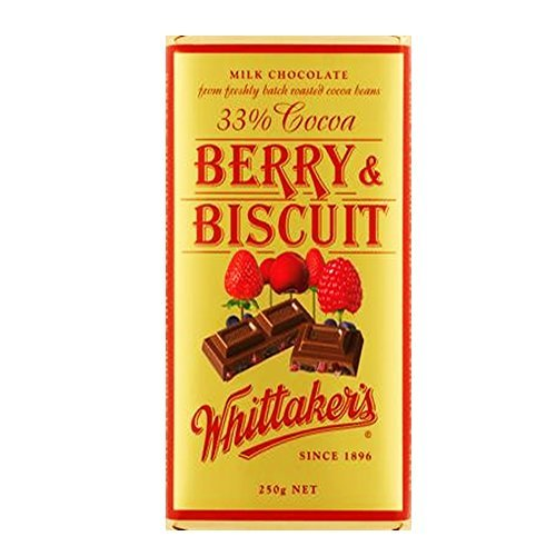 Whittaker's Berry & Biscuit Block (250g)