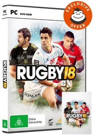 Rugby 18 for PC Games