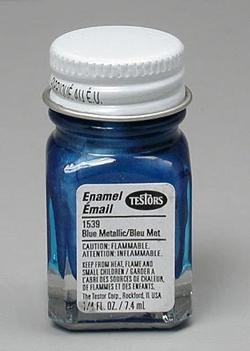 Testors: Metallic Enamel Paint - Metal Flake Blue image