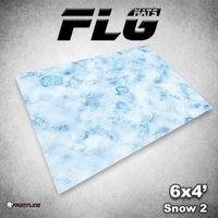 FLG Snow #2 Neoprene Gaming Mat (6x4)