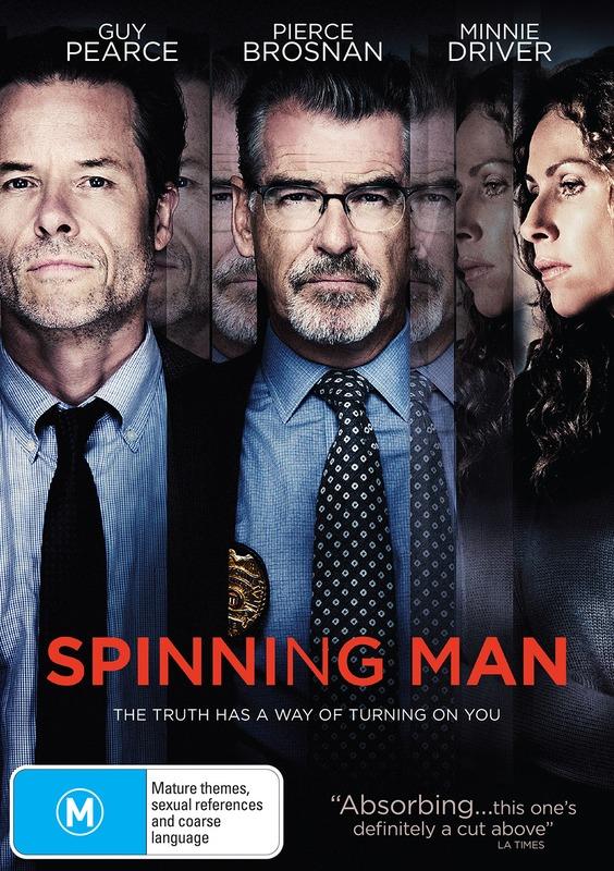 Spinning Man on DVD