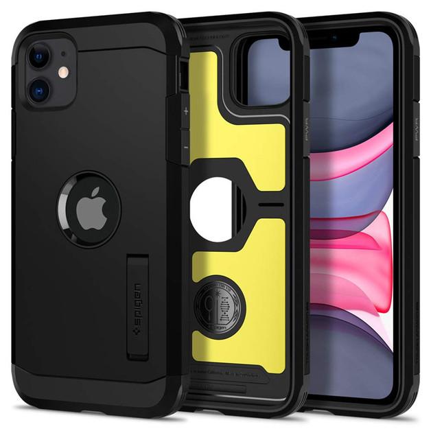 Spigen: iPhone 11 Tough Armor Case - Black