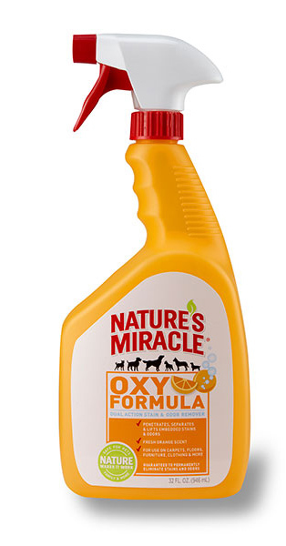 Natures Miracle: Oxy Orange Stain & Odour Remover 946ml