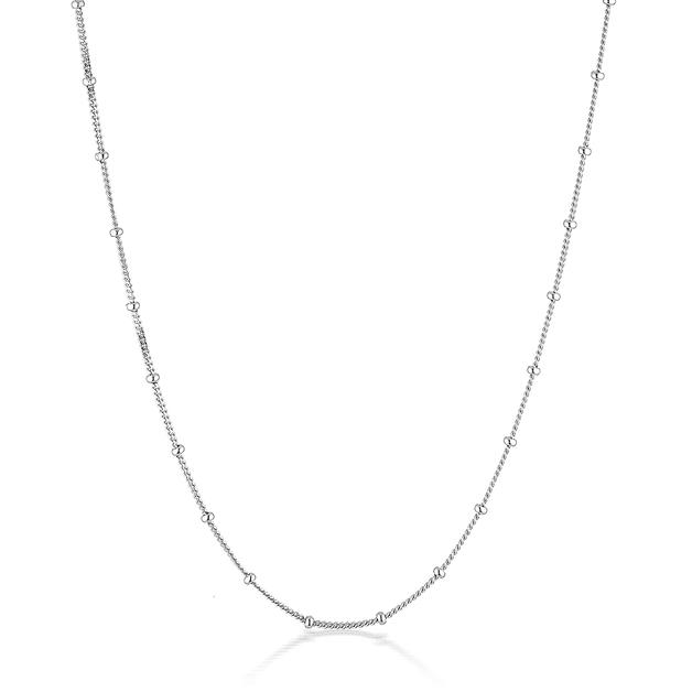 El & Ro: Adore Bobble Chain - Silver