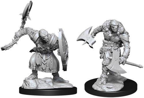 D&D Nolzur's Marvelous: Unpainted Miniatures - Warforged Barbarian