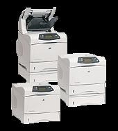 Hewlett-Packard HP LaserJet 4350dtn Printer        Up to 52ppm (A4);460MHz processor 2x500 sheet & 100 sheet multi-purpose trays