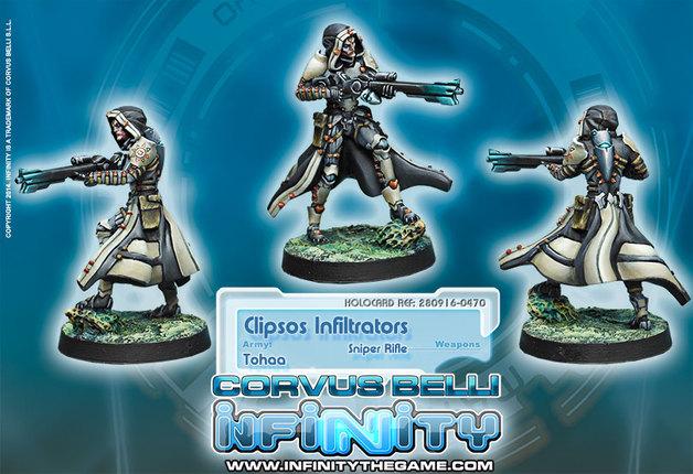 Clipsos Infiltrators (Sniper)