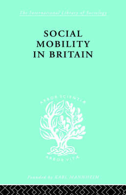 Social Mobility Brit Ils 117 by D.V. Glass