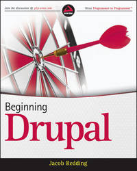 Beginning Drupal by Jacob Redding image