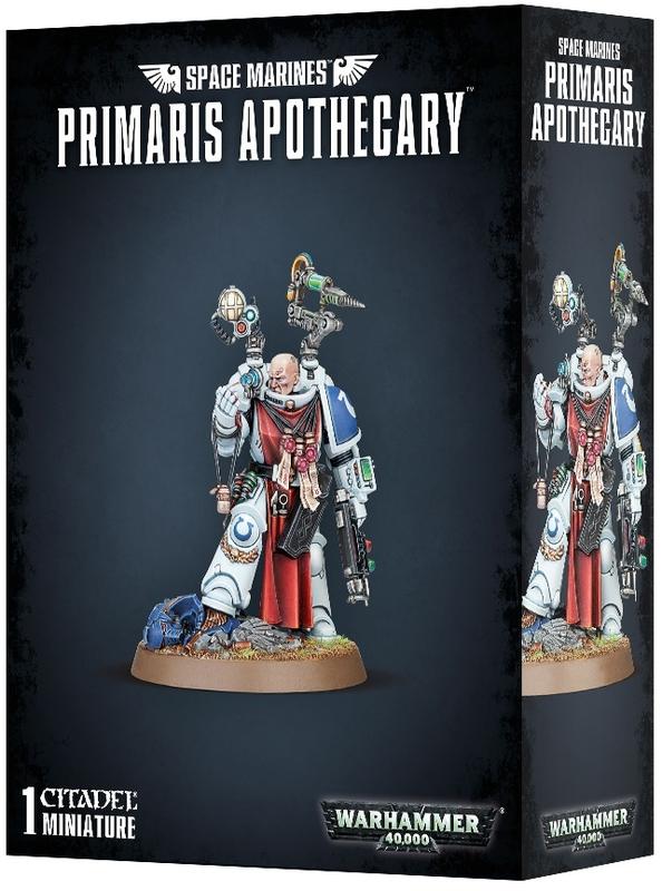 Warhammer 40,000 : Space Marine Primaris Apothecary