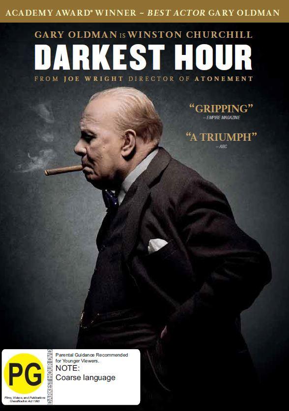 Darkest Hour on DVD image