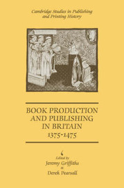 Cambridge Studies in Publishing and Printing History image