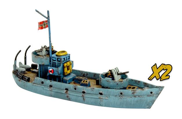 Cruel Seas: German Kriegfischcutter