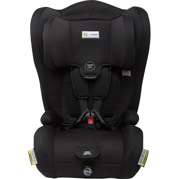 InfaSecure: Pulsar - Booster Seat (Size: 1-8 Years)