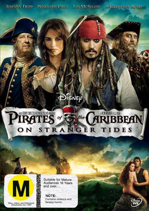 Pirates of the Caribbean: On Stranger Tides on DVD