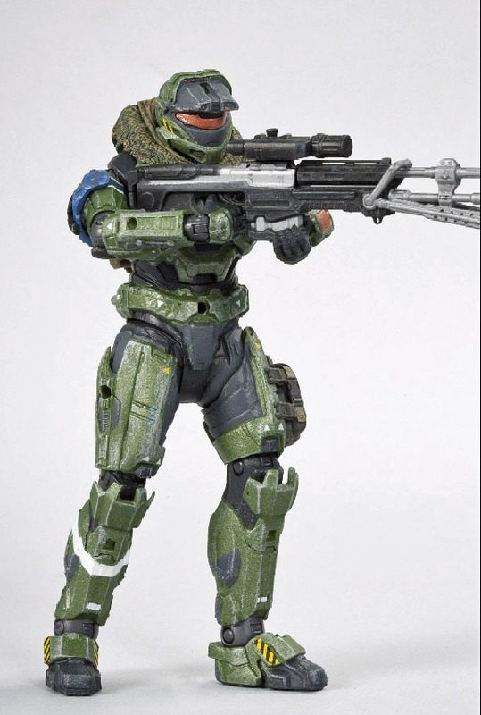 Halo Reach Series 3 Action Figure - Jun   at Mighty Ape NZ