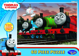 Thomas & Friends 60 Piece Jigsaw Puzzle - Thomas, Percy and James