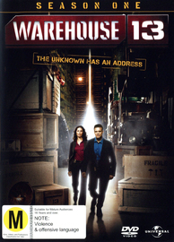 Warehouse 13: Season 1 (4 Disc Slimline Set) on DVD