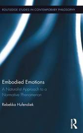 Embodied Emotions by Rebekka Hufendiek
