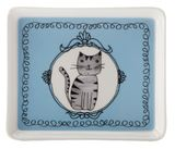 Maxwell & Williams: Purrfect Rectangular Plate - Blue (14cm)