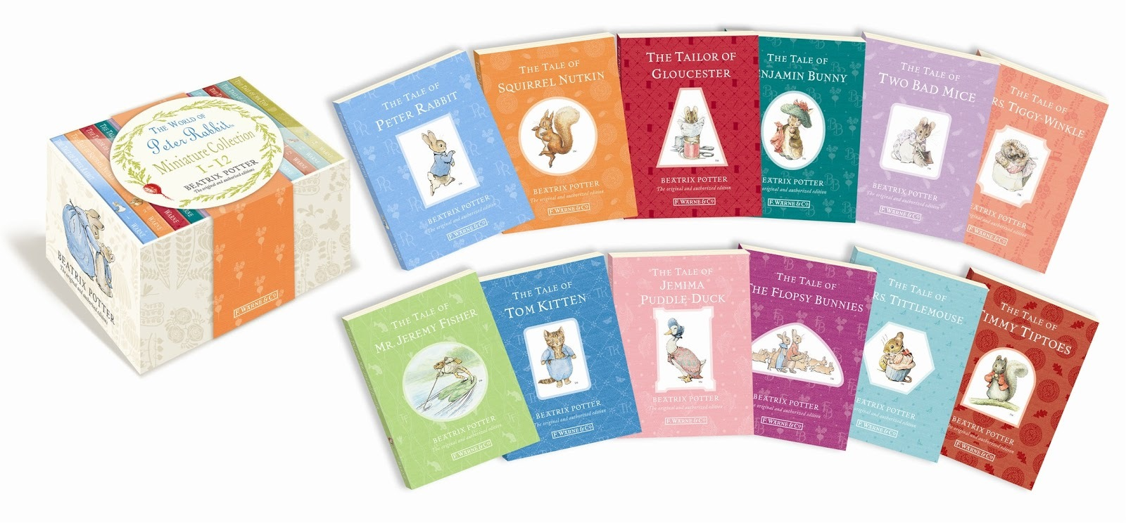 The World of Peter Rabbit: Mini Original Tales Box Set by Beatrix Potter image