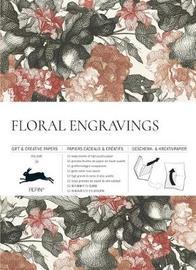 Pepin Press: Gift & Creative Papers - Floral Engravings by Pepin Van Roojen