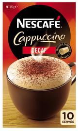 Nescafe Café Menu (Cappucino Decaf, 10pk) image
