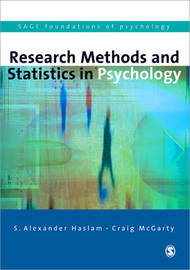 Research Methods and Statistics in Psychology by S.Alexander Haslam image