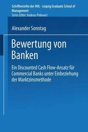 Bewertung Von Banken by Alexander Sonntag