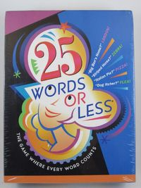 25 Words Or Less - Card Game