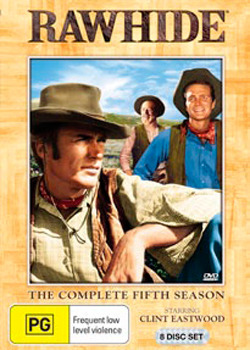 Rawhide - The Complete 5th Season (8 Disc Set) on DVD image