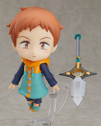 The Seven Deadly Sins: Nendoroid King - Articulated Figure